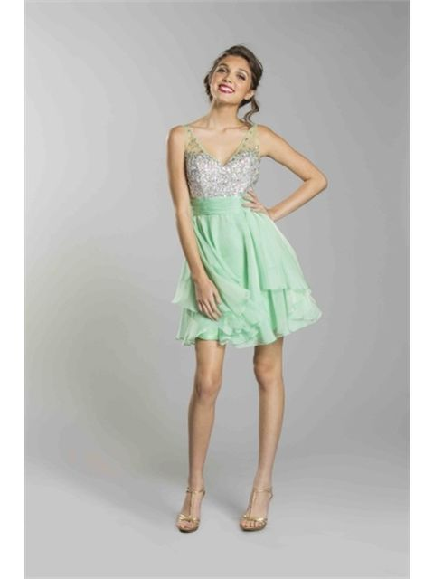 CINDERELLA Swing Cocktail Dress Mint