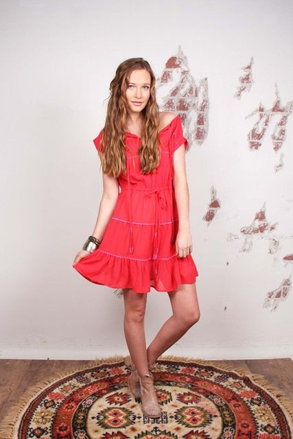 THE WALLFLOWER Swing Dress