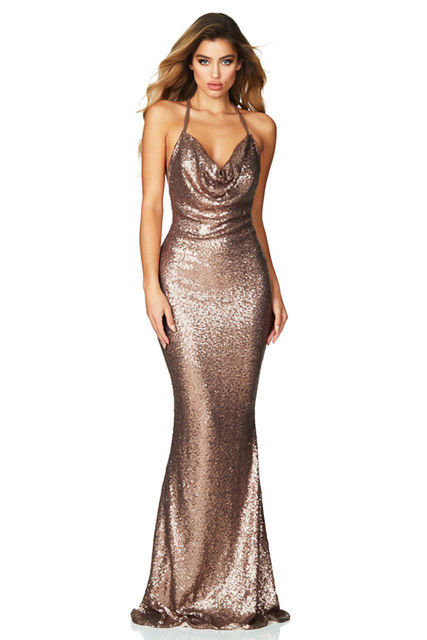 NOOKIE Seduce Gown Bronze