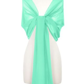 Chiffon Wrap - Mint Green