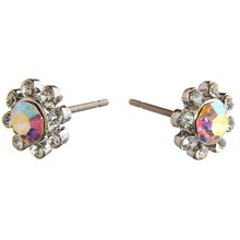 STUD EARRINGS Daisy AB Crytal Steel SSS