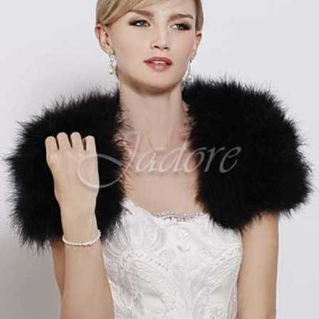 JADORE Feathered Bolero