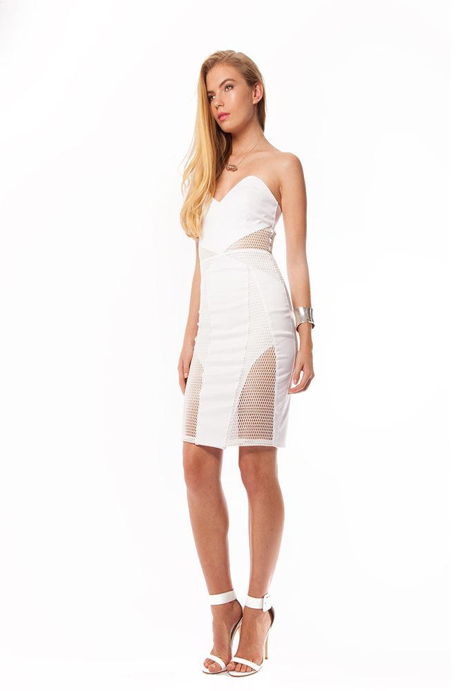PREMONITION Valencia Mesh Dress
