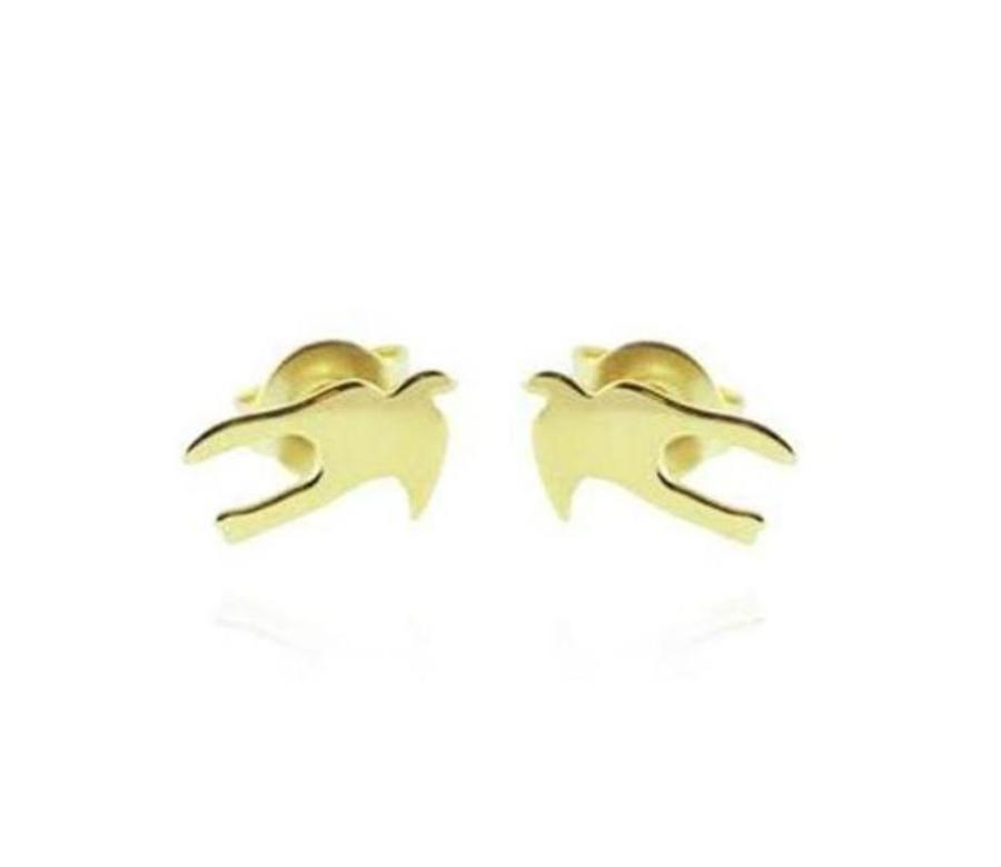 EARRINGS Swallow Gold